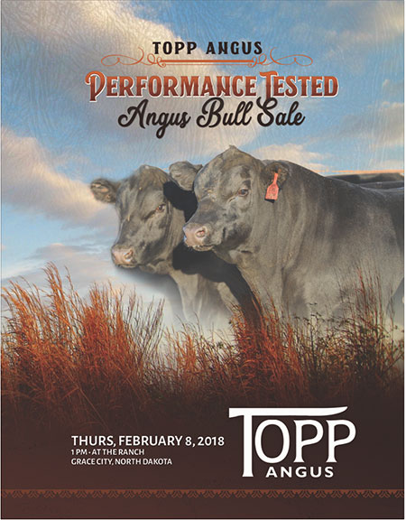 2018 Bull Sale Catalog Cover